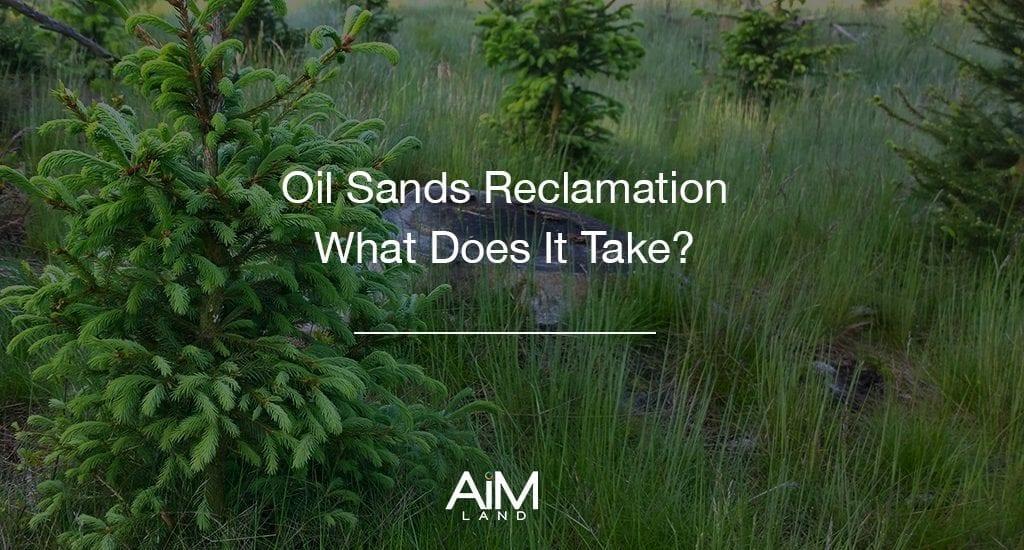 Alberta Oil Sands Reclamation