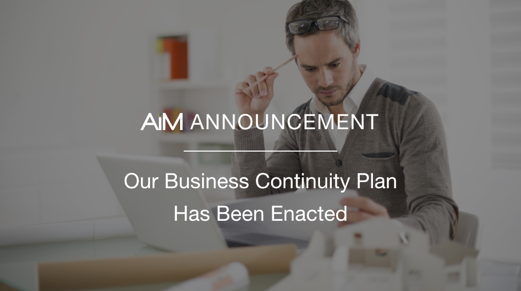 AiM Business Continuity Plan