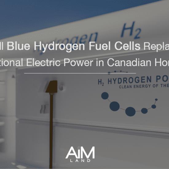 Blue Hydrogen Canadian Power