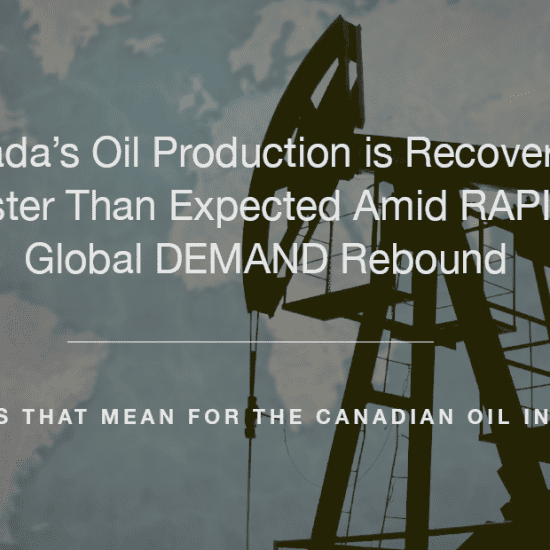 Canada's Oil Industry in Recovery Aim Land